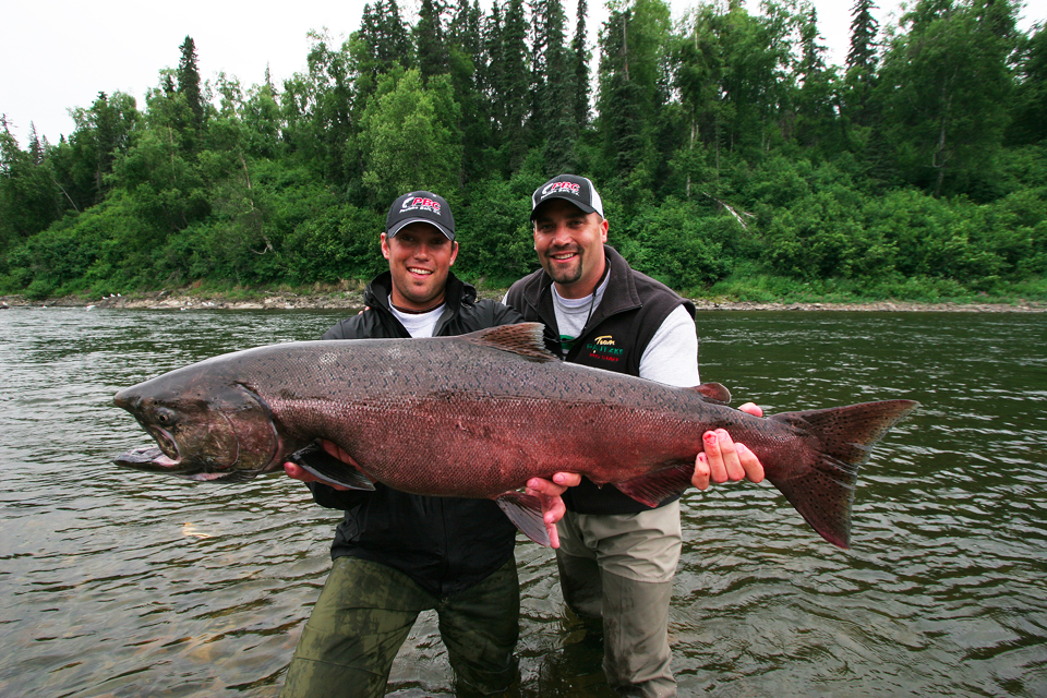 Wilderness alaskan fishing 3 spots left hawghunter guide for Alaskan salmon fishing